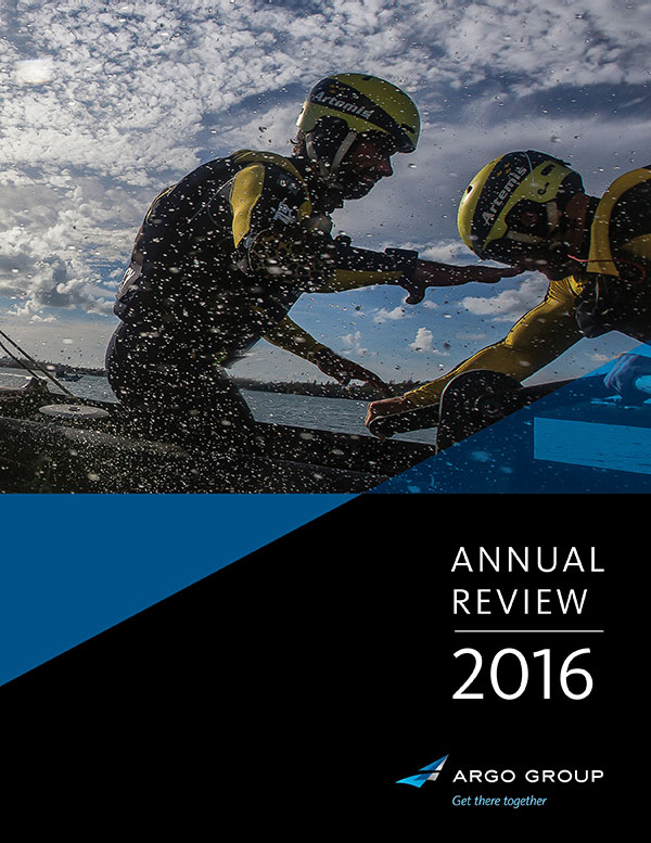 Cover of 2016 Annual Review