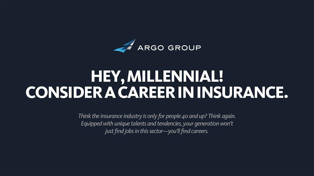 Hey, Millennial! Consider a Career in Insurance