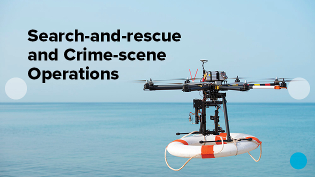 Search-and-rescue and crime-scene operations