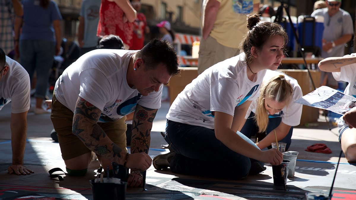 Chalk It Up Draws Artists To Downtown San Antonio