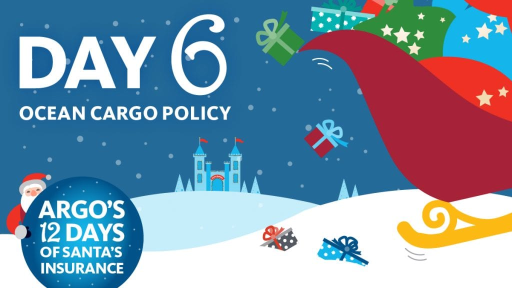 Day 6 ocean cargo policy