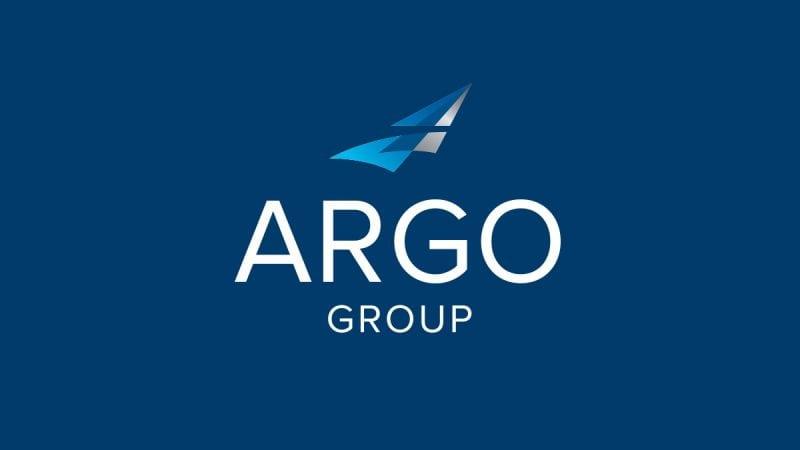 Argo Group logo on dark blue background