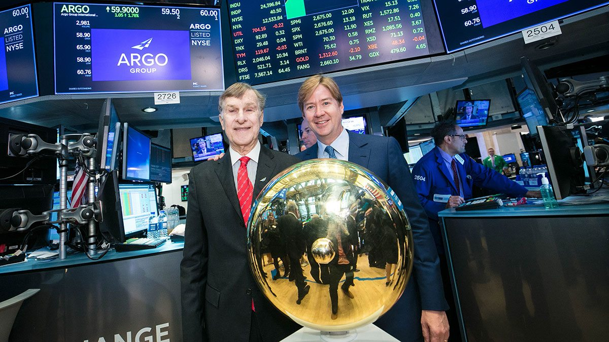 nyse opening bell makes argo listing official