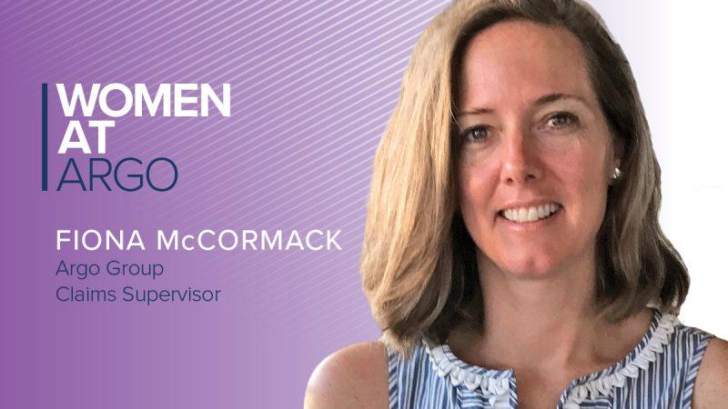 Women at Argo Fiona McCormack