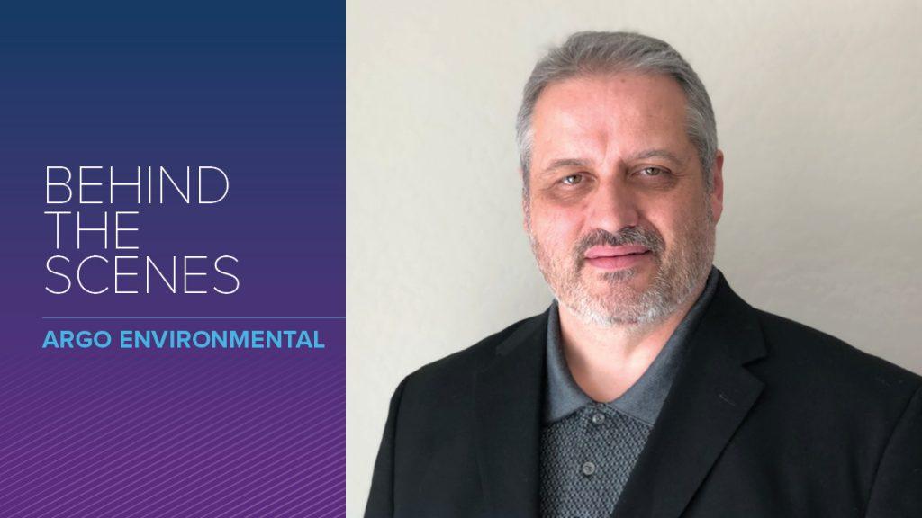 Argo Environmental employee Scott Trueba